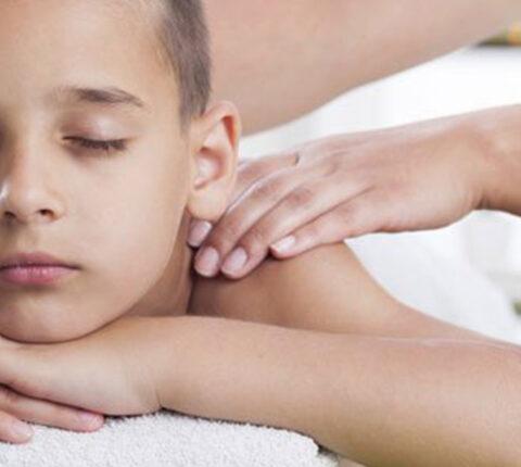Masaje en niños y adolescentes